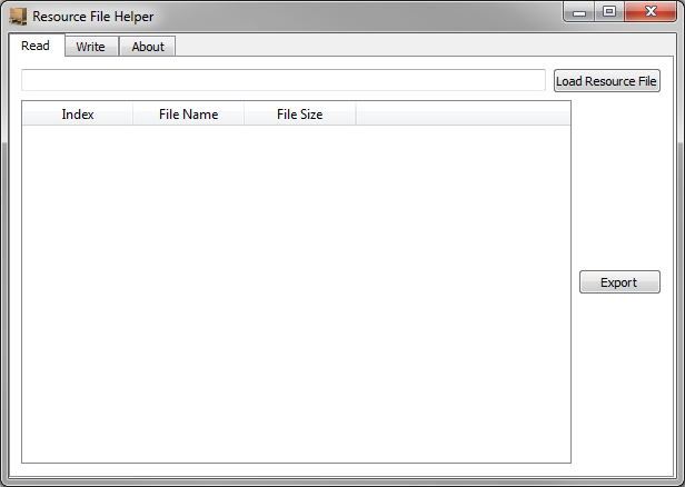 Resource File Helper read preview